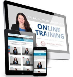 Public Speaking Online Training